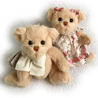 "Мишка Тедди ""Marissa & little Teddy"", 15см"